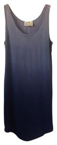 Final Touch short dress Blue ombre on Tradesy