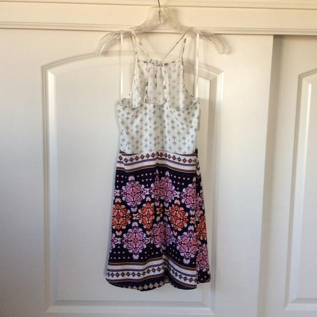 6c4d3cc5588e ... Divided by H&M short dress Cream with multicolored design on Tradesy