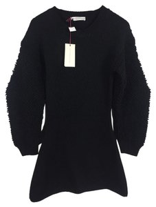 Stella McCartney short dress Black Luxury Wool on Tradesy