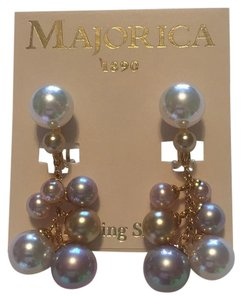 Majorica REDUCED, Dangled Pearls Earring