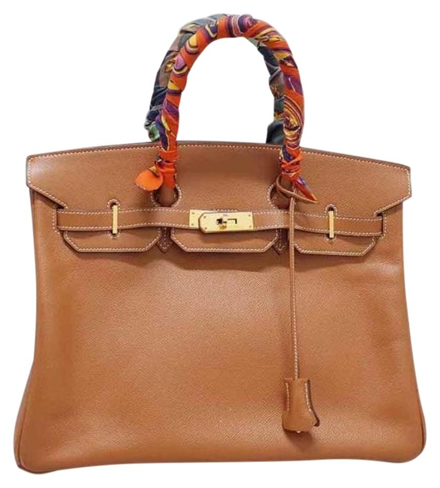 0c6c0cbf3e Hermès Birkin 35 Cm Natural Clemence Leather Shoulder Bag - Tradesy