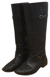 Frye Riding Leather Black Boots