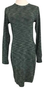 Lululemon LULULEMON &GO Where To Long Sleeve Dress Green Size 6 NWT $148