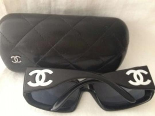 Chanel Authentic Black Mother of Pearl CC