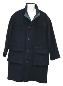 Façonnable Men's Wool Heavy Coat