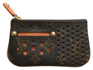 Louis Vuitton Wristlet in Brown And Orange