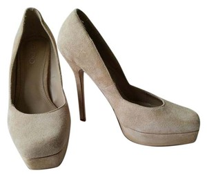 ALDO Suede Stiletto Pump Tan Pumps