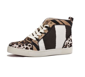 Christian Louboutin Sneakers Sneakers Red Bottom Leopard & Zebra Athletic