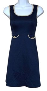 Fransesca's short dress Navy Blue Boutique Sailor on Tradesy
