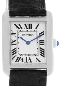 Cartier Cartier Tank Solo Ladies Stainless Steel Quartz Watch W1018255
