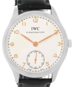 IWC IWC Portuguese Chrono Manual Stainless Steel Mens Watch IW545408
