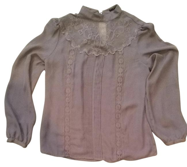 Preload https://item4.tradesy.com/images/sisley-taupe-blouse-size-12-l-2027843-0-0.jpg?width=400&height=650