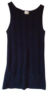 Anthropologie Cable Knit Sleeveless Vest