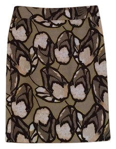 Ann Taylor Skirt Brown, Pink