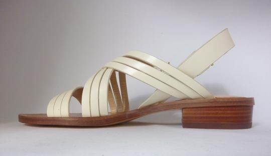 Pour La Victoire Leather Off White Sandals