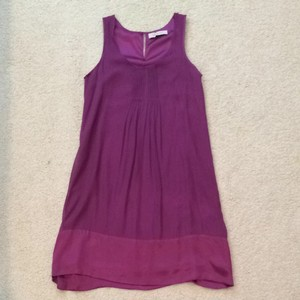 GERARD DAREL short dress Purple Silk on Tradesy