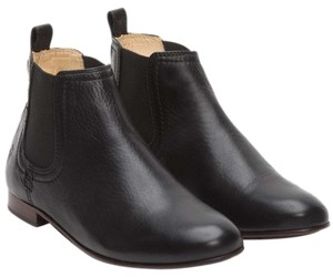 Frye Leather Chelsea Black Boots