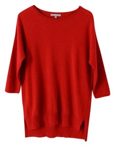 Neiman Marcus Cashmere Tunic 3/4 Sleeve Long Sweater