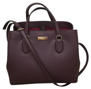Kate Spade Satchel in MULLED WINE