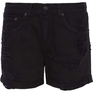 Rag & Bone Cut Off Shorts Black