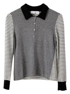 Fabiana Filippi Cashmere Merino Wool Polo Striped Stripes Sweater