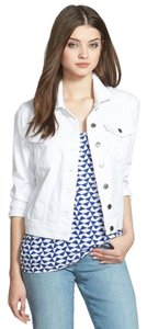 KUT from the Kloth Denim White Womens Jean Jacket