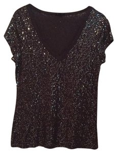 Express Top Black silver
