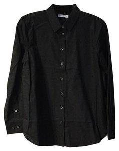 Equipment Button Down Shirt Black & White