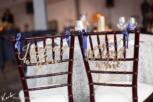 Wedding Chair Signs: