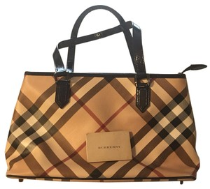 Burberry Totes Tote in Blue/brown/red
