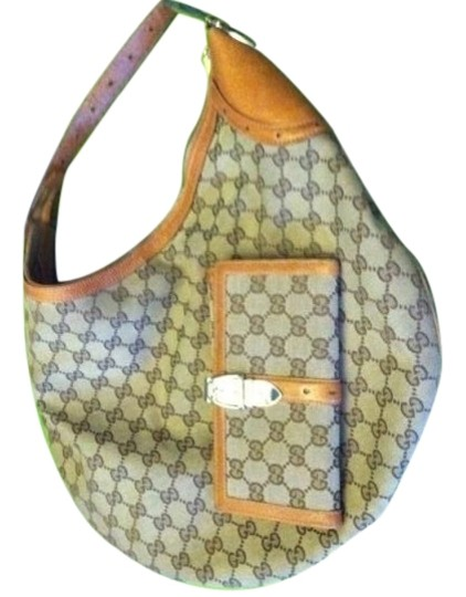 Gucci Horsebit Buckle Gold Hobo Bag