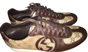 Gucci Brown & Tan Athletic