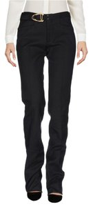Gucci Buckle Mid-rise Trouser Pants Black