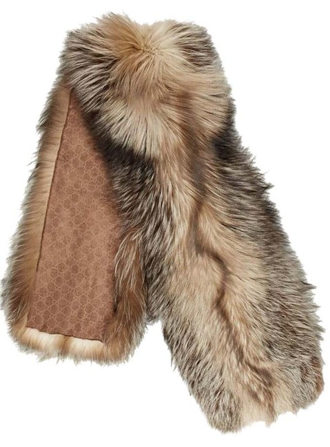 Item - Brown Scarf Ghiottina Poncho/Cape Size OS (one size)