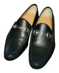 Gucci Mens Loafer Black Flats