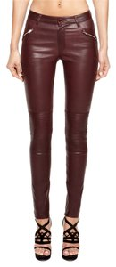 BLK DNM J Brand Rag & Bone Skinny Pants Dark Red