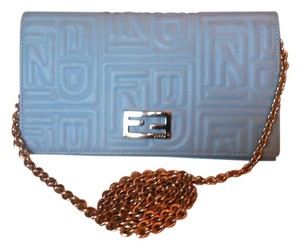 Fendi Baby Blue Clutch