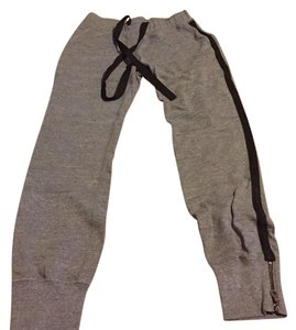 AG Adriano Goldschmied Athletic Pants Grey with black stripe