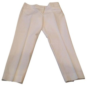 The Limited Straight Pants White