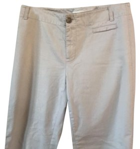 Banana Republic Straight Pants Tan