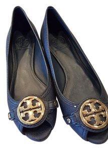 Tory Burch Navy blue Wedges