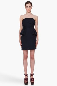 Marc by Marc Jacobs Sleeveless Strapless Peplum Nwt Dress
