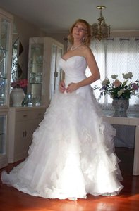 Lazaro Winter Sale Wedding Dress