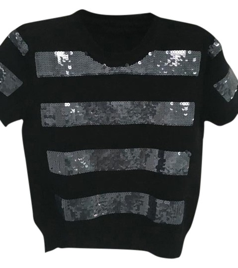647efdabb3f427 Marc Jacobs Dressy-knit Short-sleeve With Sequins Sweater 70%OFF ...