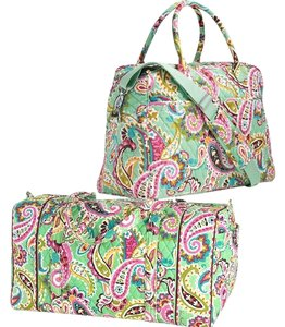 Vera Bradley Retired Travel Bag