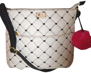 Betsey Johnson Quilted Diamonds Cross Body Bag