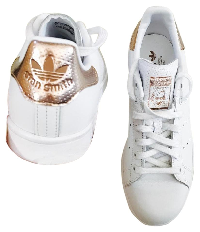 adidas Stan Smith Without Women's Rose Gold New Without Smith Box Sneakers f838ab
