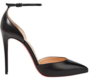 Christian Louboutin Louboutin Uptown Red Sole Leather black Pumps