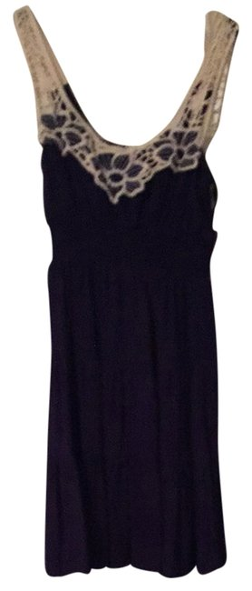 Preload https://item3.tradesy.com/images/as-u-wish-navy-blue-white-short-casual-dress-size-4-s-2028137-0-0.jpg?width=400&height=650
