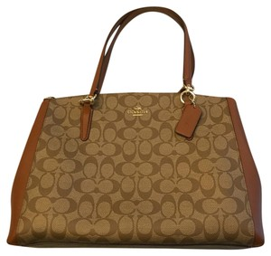 Coach Satchel in Saddle And Brown